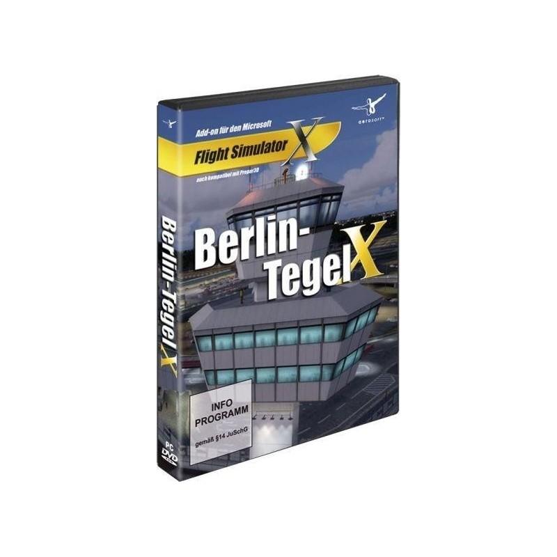 MegAirport BERLIN-TEGEL X (Add-on for MFSX, & Prepar3D)