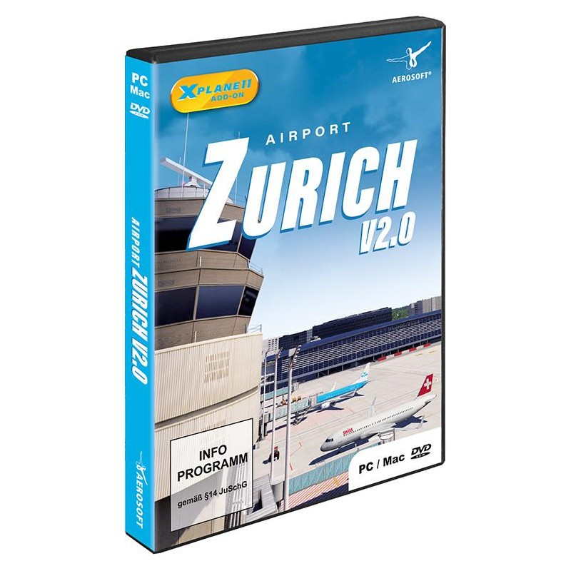 AIRPORT ZURICH V2 0 (Add-on for X-Plane 11)