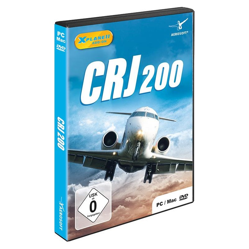 AIRPORT CRJ 200 (Add-on for X-Plane 11)