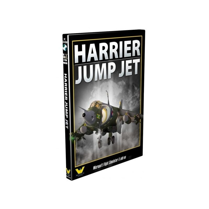 HARRIER JUMP JET  The Total VSTOL Experience!(PC CD-ROM for Flight  Simulator X)
