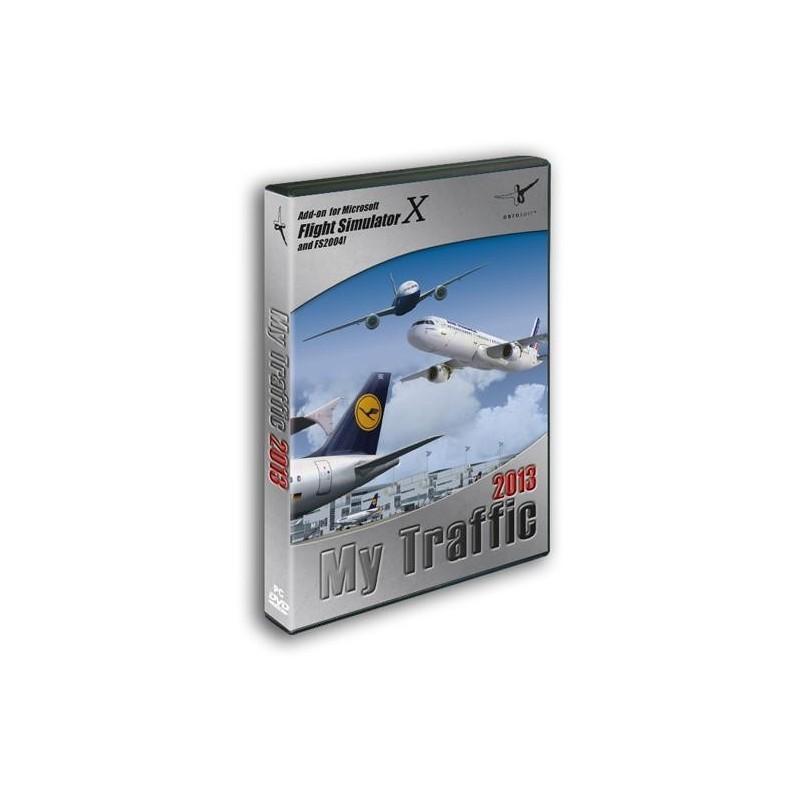 MY TRAFFIC 2013  (Add-on for Microsoft Flight Simulator X and FS2004)