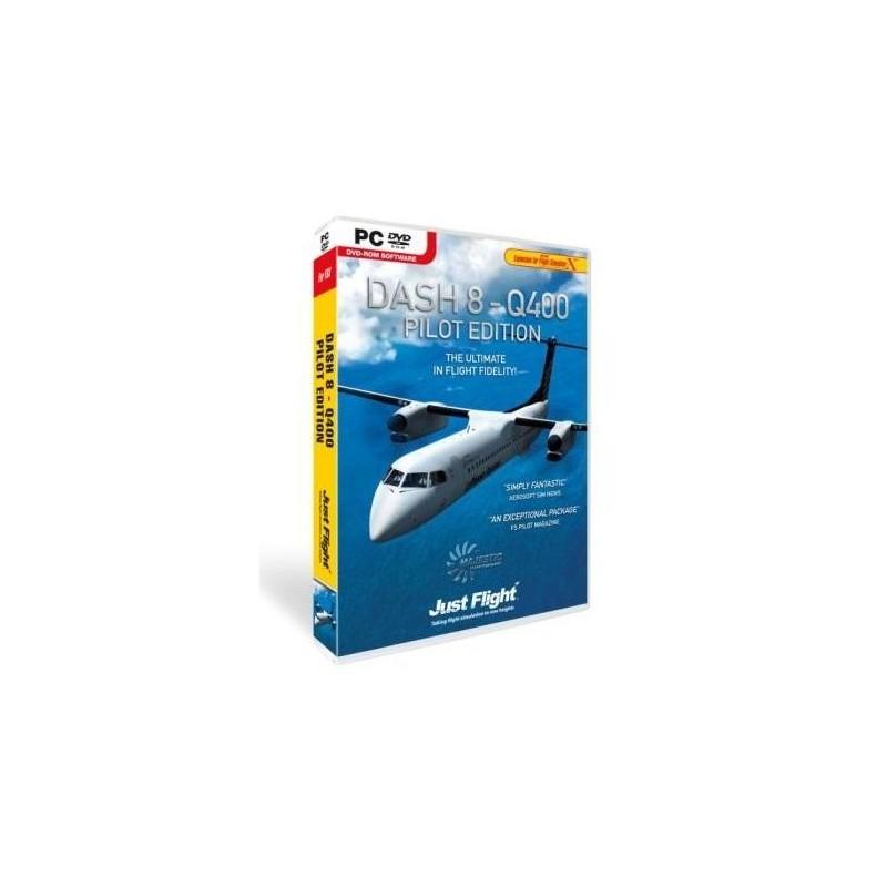 DASH 8-Q400 Pilot Edition (Add-on for Flight Simulator X)