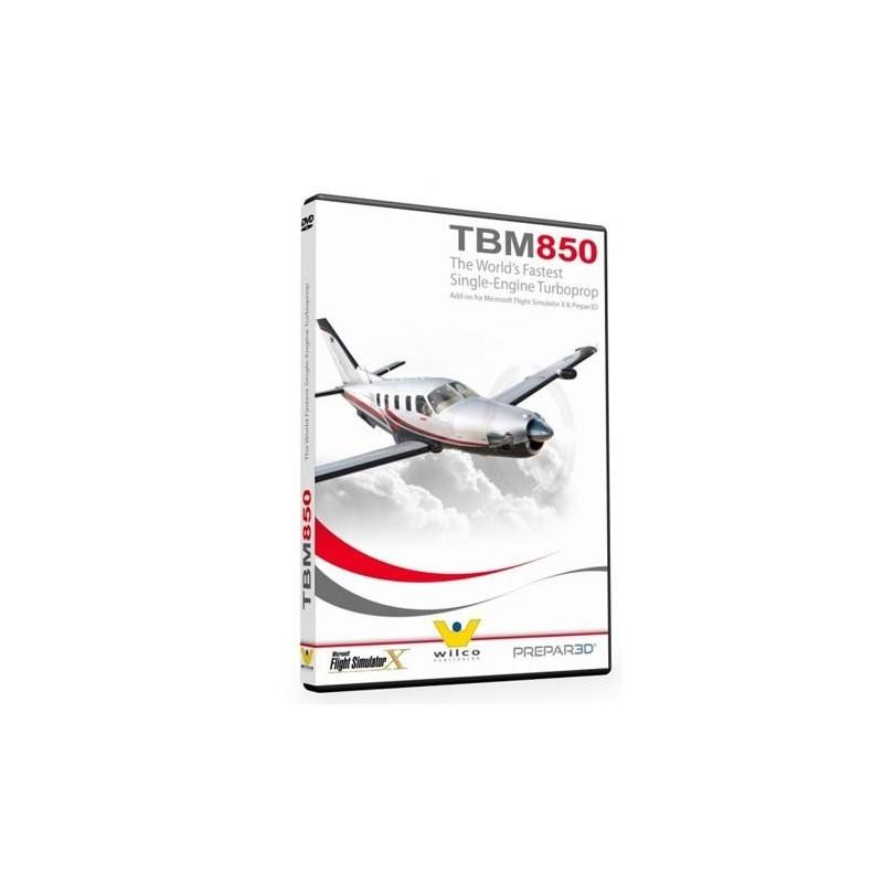 TBM850 Elite (Add-on for Flight Simulator X & Prepar3D)